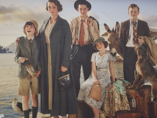 The Durrell family as depicted on ITV
