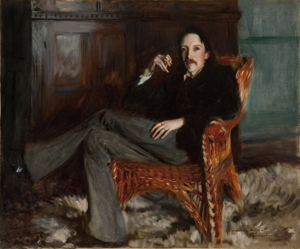 Robert Louis Stevenson by John Singer Sargent, 1887 (Copyright: Courtesy of the Taft Museum of Art, Cincinnati, Ohio)